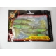 "Holographic Bailtfish Paddle Tail Minnow 5"" BR"