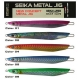 Amostra Tubertini Seika Metal Jig Long Knife 120mm 60g Cor:01