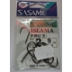 Anzois Sasame Iseama nº2 F-764 Black Nickel 9 Pcs