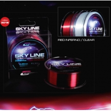 Fio Cinnetic SKY LINE RED ( Inferno )  0,22 Mts - 7,30 Kg  - 300 Mts